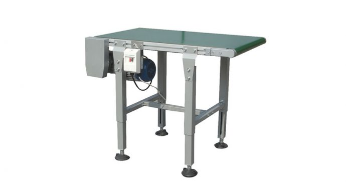 Motorised belt conveyors