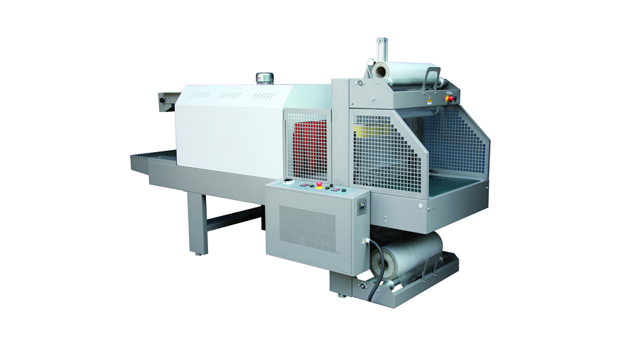 Shrink machine with PET film